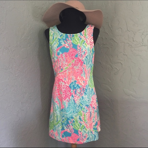 Lilly Pulitzer Dresses & Skirts - 🌴Lilly Pulitzer🌴size 6 Let's Cha Cha Shift Dress